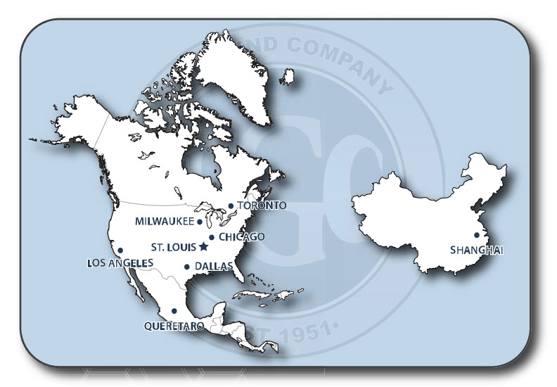 Our Locations The Gund Company
