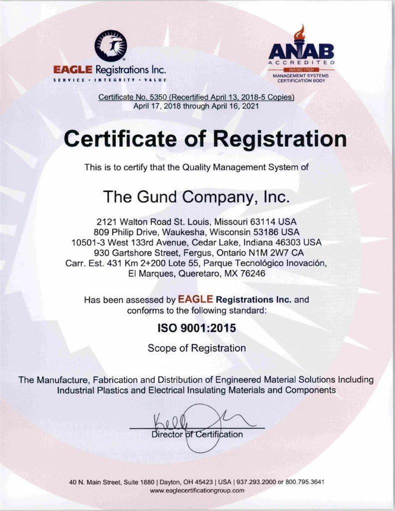 Iso The Gund Company